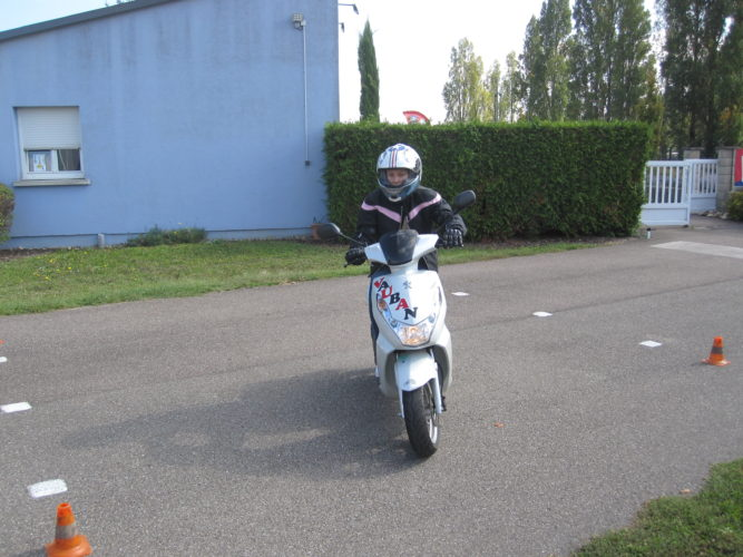 Permis moto à Colmar et Wolfgantzen