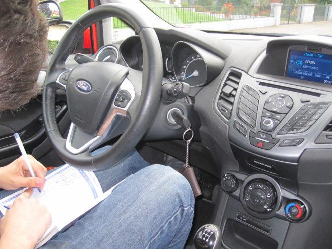 Leçon de conduite à Colmar